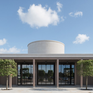 REMEMBRANCE CENTRE, NATIONAL MEMORIAL ARBORETUM, STAFFORDSHIRE, NEW BUILDINGS HIGHLY COMMENDED 2017