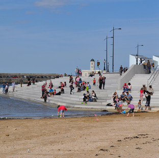Public Realm Winner: The Harbour Steps, Margate