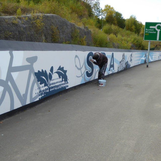 Public Realm: Highly Commended: Eyesore to Artwork, Derbyshire