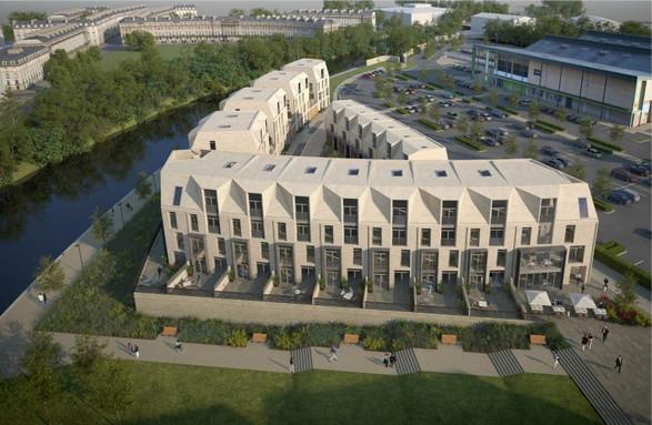 Western Terrace, Bath, Housing Winner 2017