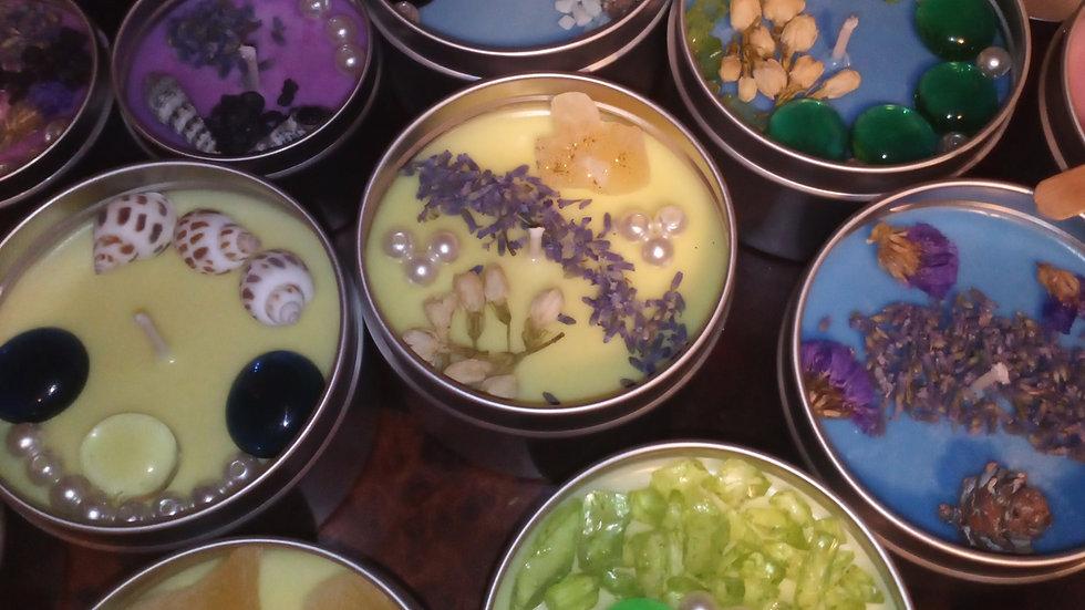 Medium spring collection candles