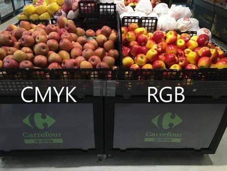 Phân biệt hệ màu RGB và CMYK