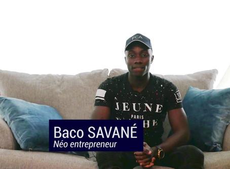 Témoignage de Baco, néo entrepreneur en plein temps