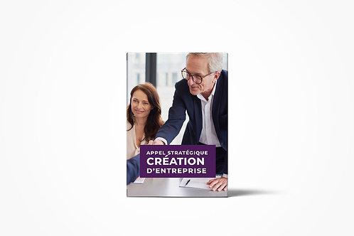 Appel stratégique Création d'entreprise