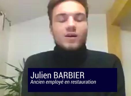 Témoignage de Julien, ancien employé en restauration