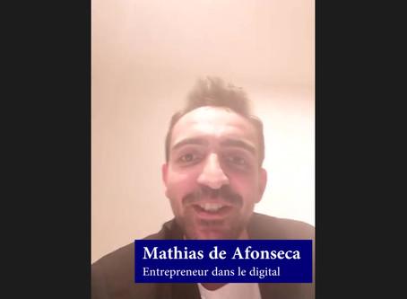 Témoignage de Mathias, entrepreneur dans le digital
