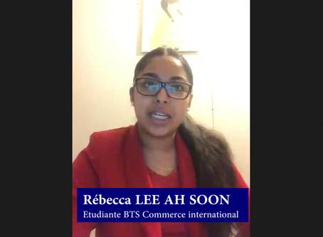 Témoignage de Rebecca, étudiante en école de commerce