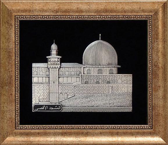 """Барельеф """"Мечеть аль-Акса,"""""""
