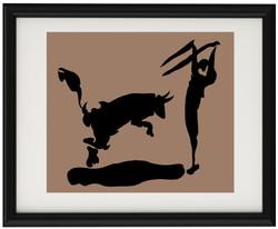 Гравюра на меди Пабло Пикассо
