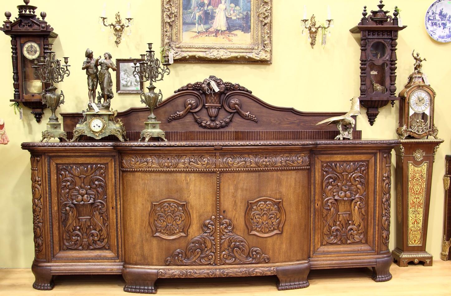 Резной декор для мебели