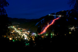 Torchlight Parade at Red River Ski Area