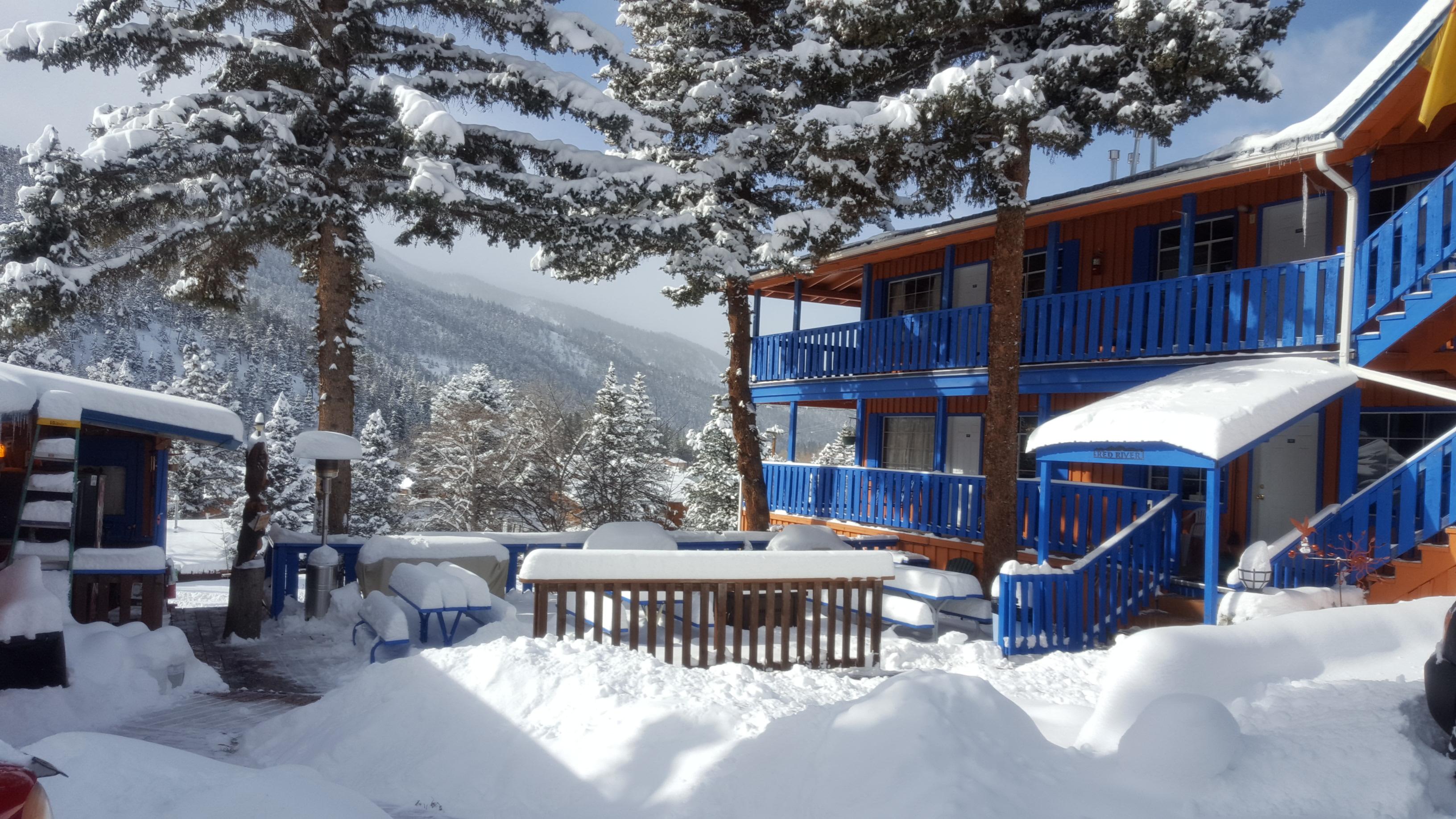 Terrace Towers Deck in Winter-1