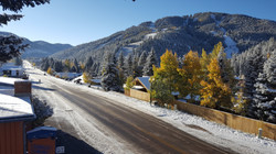 Winter views from Terrace Towers Lodge -