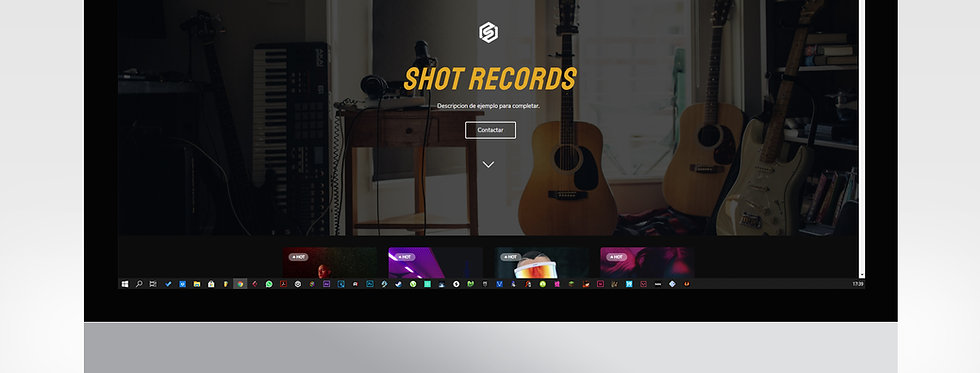 Beat Store Template