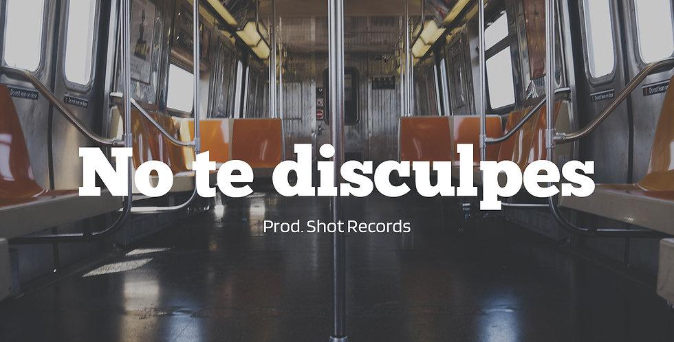 No te disculpes | Reggaeton (Derechos)