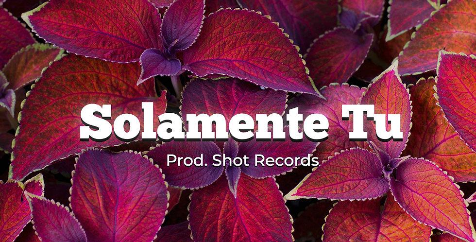 Solamente Tu | Reggaeton (Premium)