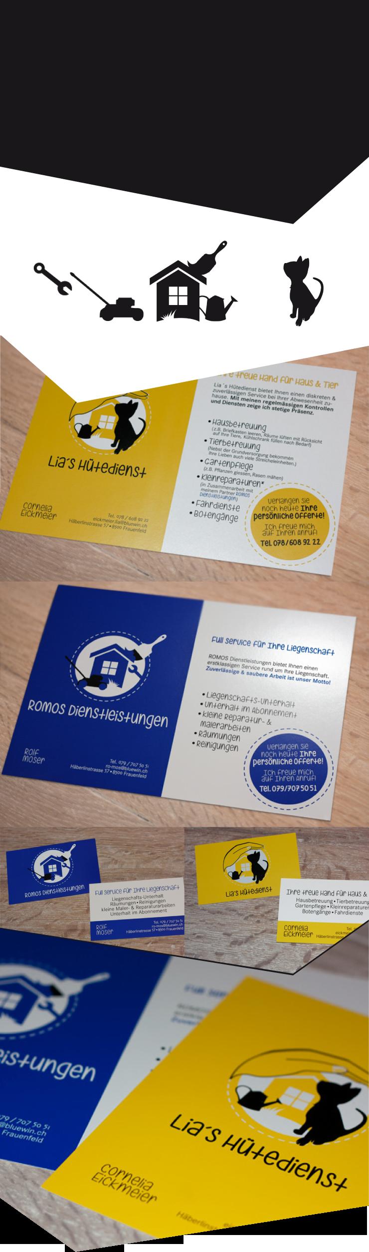 Grafikdesign Logo Broschüre