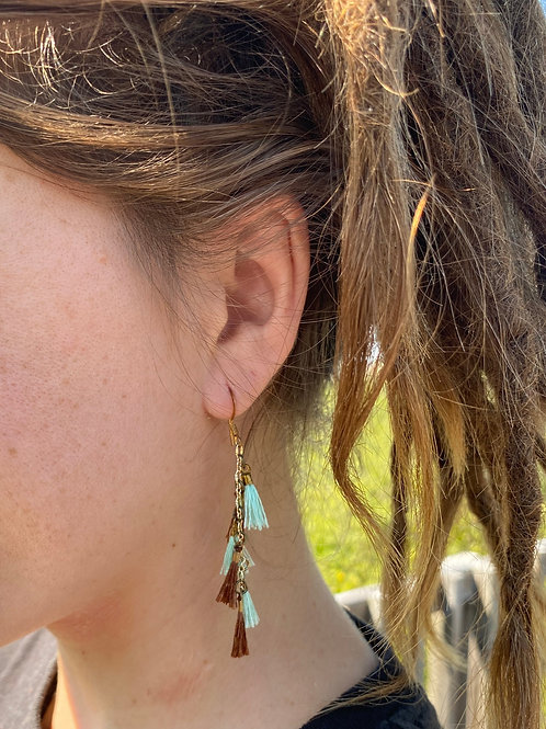 Mocha Sky Earrings