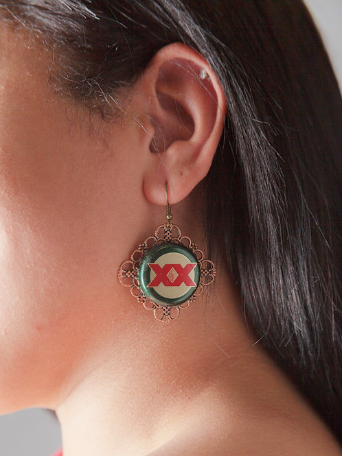 Heineken Earrings