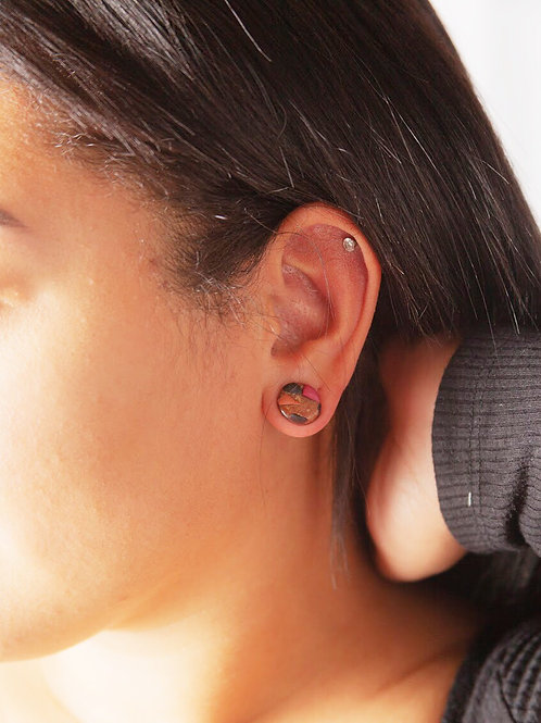 Mosaic Polymer Clay Earrings