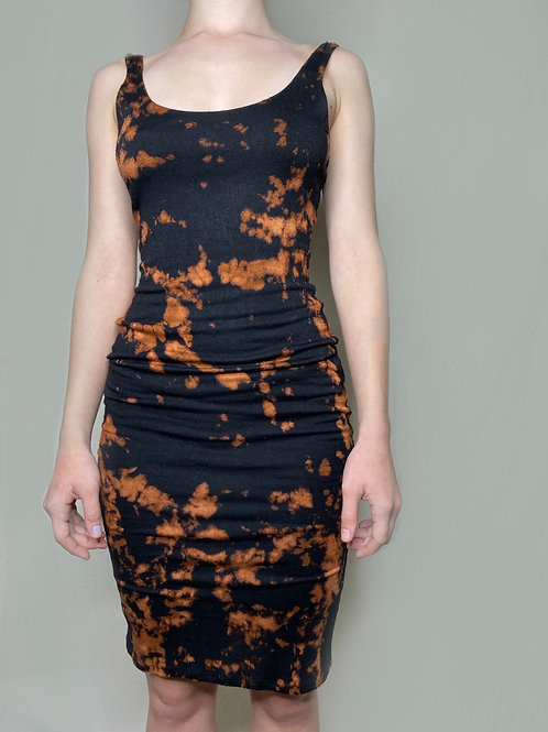 Tie-Dye Bodycon Dress