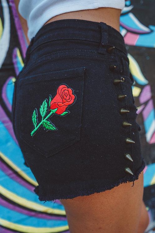 Rosey Cheeks Denim Shorts