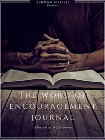 Word of Encouragement Journal Cover