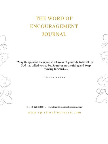 Word of Encouragement Journal pg 1