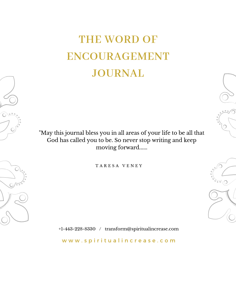 Word of Encouragement Journal pg 1