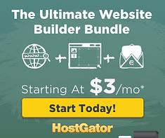 Hostgator Ultimate Website Builder