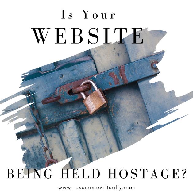 Is Your Website Being Held Hostage?