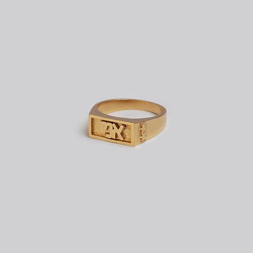 טבעת חותם זהב | אני