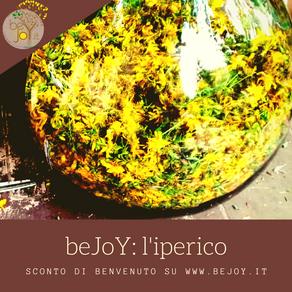 BeJoY.it usa oleolito di iperico 100% naturale!