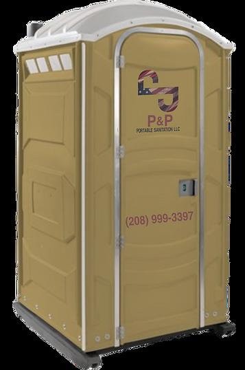 PandPPortable.com Standard Toilet