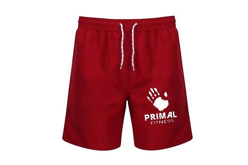Primal Fitness training board shorts