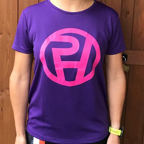 Ladies ProHuman logo tech t-shirt