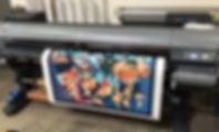 Canvas giclee printing