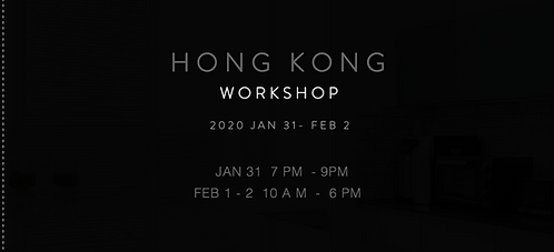 CM LEUNG HONG KONG WORKSHOP 2020 JAN 31 - FEB 2