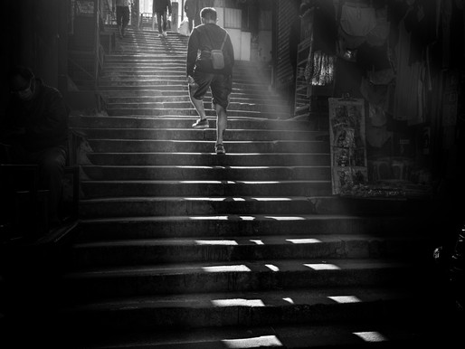 Street Photography with New - Leica Q2 Monochrome  - Hong Kong