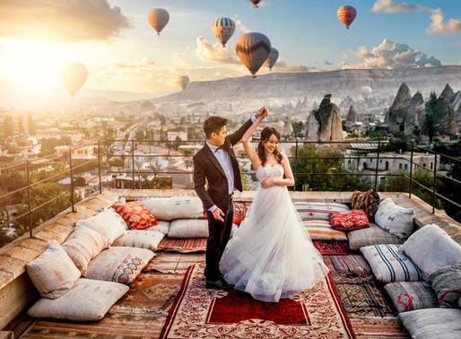 Cappadocia Turkey Pre Wedding