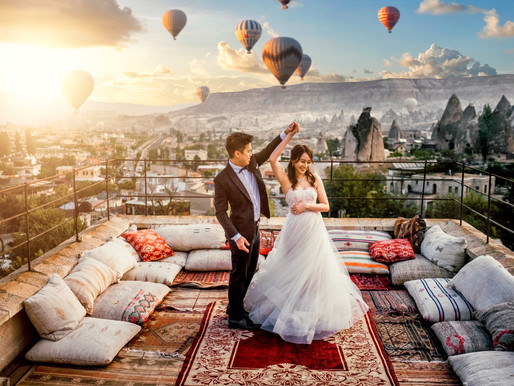 Cappadocia Turkey Pre Wedding