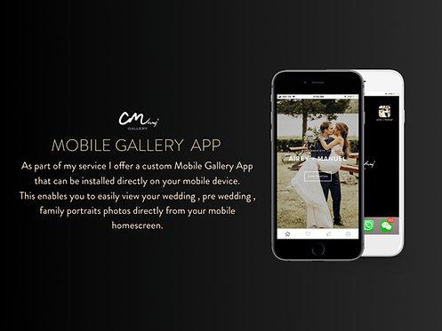 Mobile Gallery App
