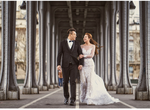 Mandy & KC  /  PARIS PRE WEDDING