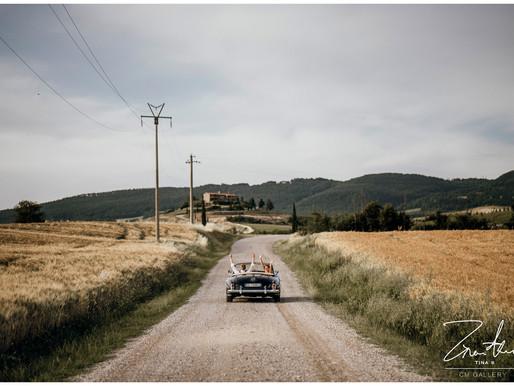 Tuscany wedding - Toscana sposalizio