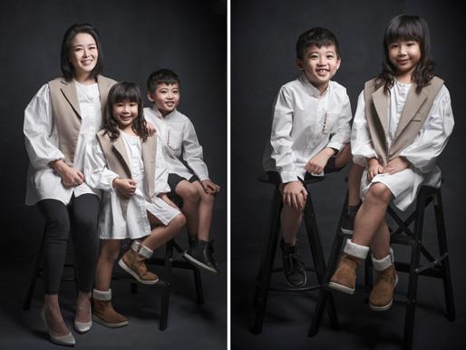 Family Portrait - Hong Kong