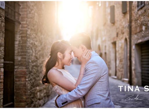 Winnie + Eric tuscany pre wedding