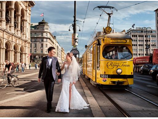 Salzburg + Vienna Austria pre wedding