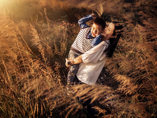 Family Portrait  - Hong Kong Miscanthus Grass