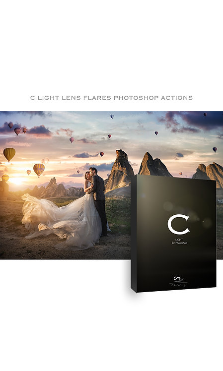 C Light Lens Flares -- PS Actions