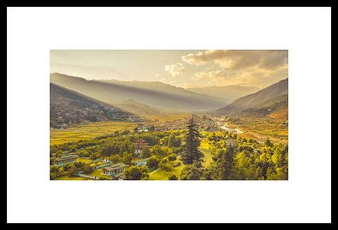 Bhutan Sunset